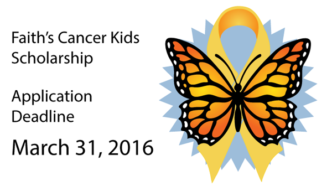 Faiths-Cancer-Kids-Scholarship-Deadline-March-31-2016-600x336
